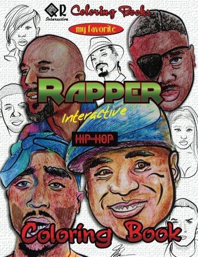 My Favorite Rapper Interactive Hip-Hop Coloring Book (QR - Interactive Coloring Book