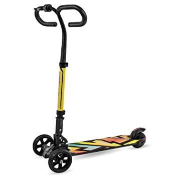 3 Wheel Scooter For Adults >> Swagtron Cali Drift Three Wheel Electric Scooter Folding E Scooter With 250w Motor Thumb Throttle Handbrakes And 15 5mph Max Speed