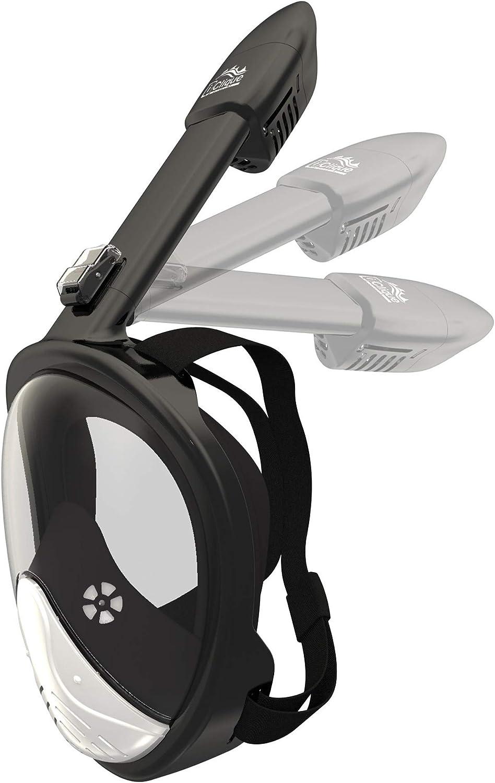 Full Face Snorkel Mask Diving Set Tube Anti Fog Anti Leak Design Waterproof Case Phone Earplugs Gopro Adapter Men Women Amazon Ca Sports Outdoors