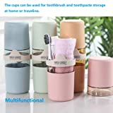 Toothbrush Travel Container & Gargle Cup 2