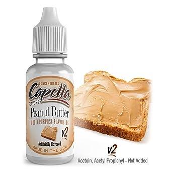 Capella Aroma 13ml DIY Peanut Butter V2: Amazon.es: Alimentación y bebidas