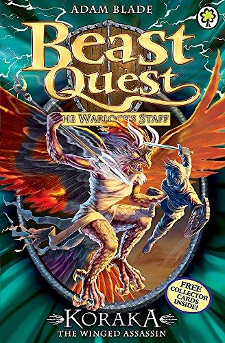 Beast Quest: 51: Koraka the Winged Assassin Paperback – September 1, 2014