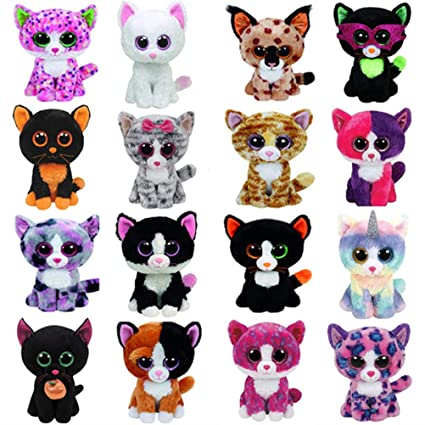 f35e303dbb9 Image Unavailable. Image not available for. Color  Ty Beanie Boos Cat Plush  Toy Muffin Sophie Pepper ...