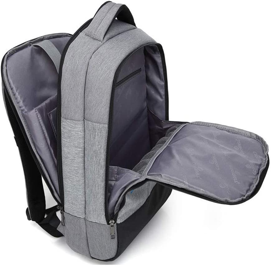 SHX dnb Travel Computer Backpack,Business Durable with USB Charging Port Anti-Theft Taptop Bag 15.6 Inch