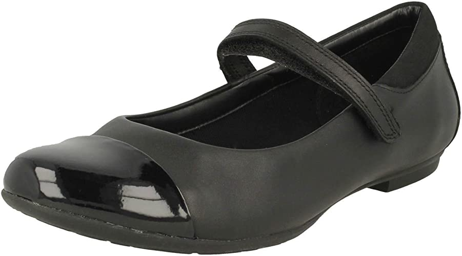 Clarks Girls Mary Jane Style School Shoes Tizz Talk