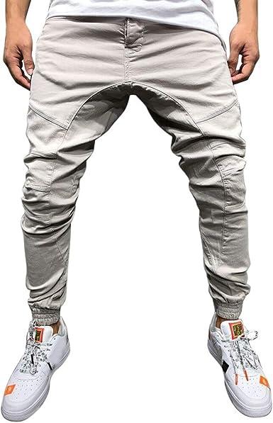 Pantalones Hombre Chandal Pantalon Deporte Hombre Vaqueros Pants ...