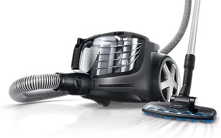 Philips PowerPro Ultimate FC9921/09 - Aspiradora (2400 W, 26,7 kWh, Aspiradora cilíndrica, Sin bolsa, Titanio, Aluminio): Amazon.es: Hogar