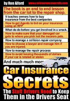 Car Insurance Secrets, Ron Alford, eBook - Amazon.com