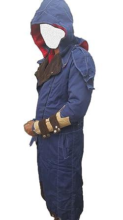484e59444 Amazon.com: Assassin's Creed Unity Arno Dorian Denim Cloak Costume ...