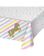 Unicorn Sparkle Plastic Tablecover All Over Print