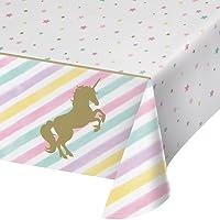Unicorn Sparkle Plastic Tablecover All Over Print