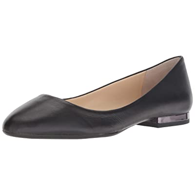 Jessica Simpson Women's GINLY Ballet Flat, Black, 11 M US: Shoes