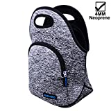 Best Lunch Boxes - KOKAKO Lunch Boxes Neoprene Lunch Bag by Tote Review