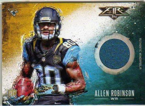 2014 Topps Fire Relics #FRAR Allen Robinson Game-Worn Jersey Card