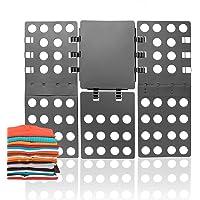 ValueHall Magic Clothes Folding Board Adult T-Shirt Laundry Organizer Clothes Flip Folder - Crease in a few Easy Steps V7031-1 (Grey)