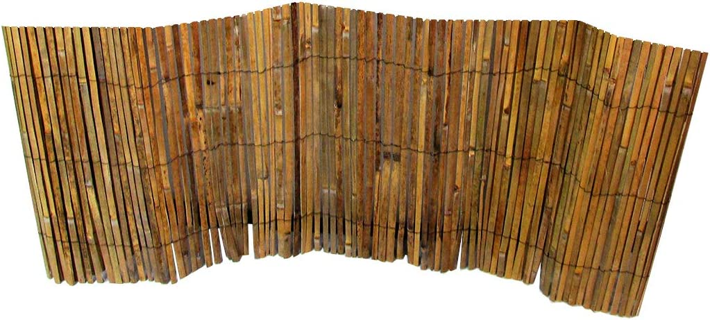 MGP Bamboo Slat Rolled Fence 2'H x 14'L
