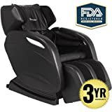 2018 Full Body Massage Chair + 3yr Warranty. Electric Zero Gravity, Foot Roller, Shiatsu Recliner with Heat and Audio. Newest Real Relax Model
