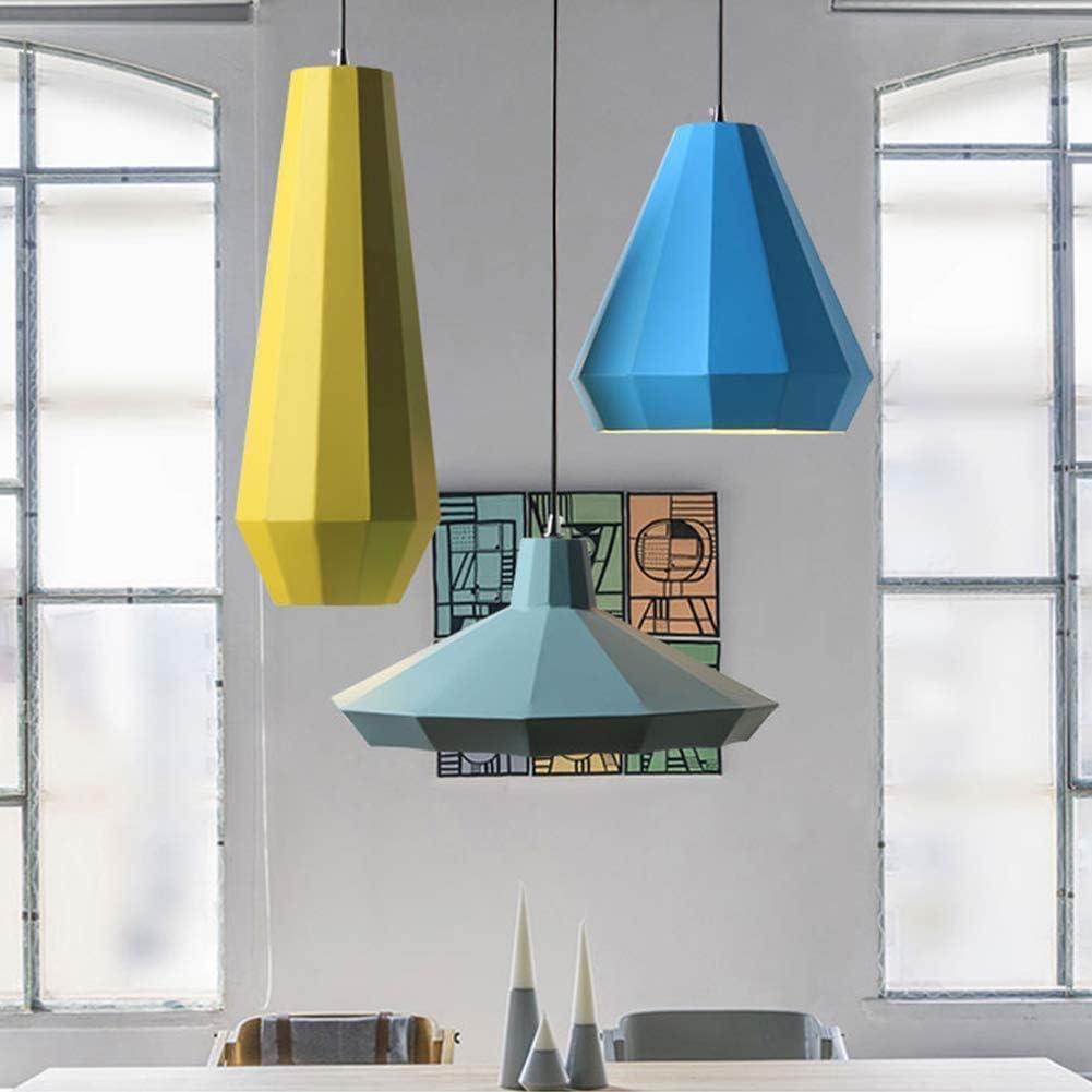 Lámpara Colgante Tales sustancias químicas nocivas Longitud Ajustable Fácil Instalación de decoración del Estilo Uso Amplio artefactos de iluminación luz de Techo (Size : Green): Amazon.es: Hogar