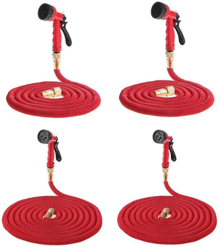 ACOWTOEMG 25Ft-100Ft Multi-Functional Garden Hose Expandable Flexible Water Hose Pipe Kits With Spray Gun Irrigation System 75 FT Sprinkler Nozzle3