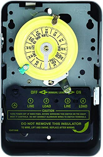 Intermatic-T103-Mechanical-Time-Switch,-Gray