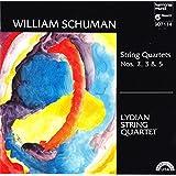 William Schuman: String Quartets No. 2, No. 3, No. 5