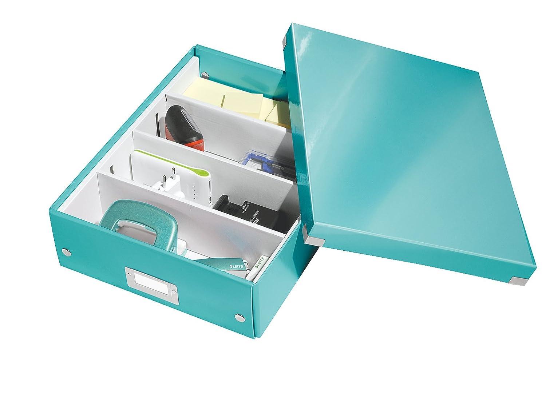 Click and Store 60430095 Nero Leitz Scatola A5 Formato Small