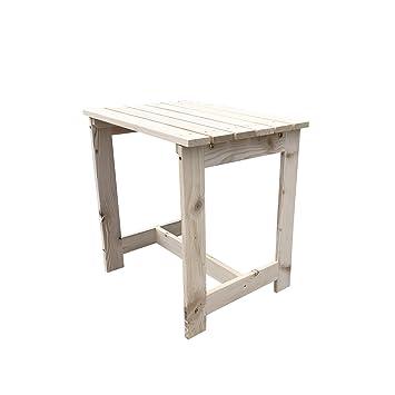 bestMart Inc tradicional café Patio mesa auxiliar final estante de ...