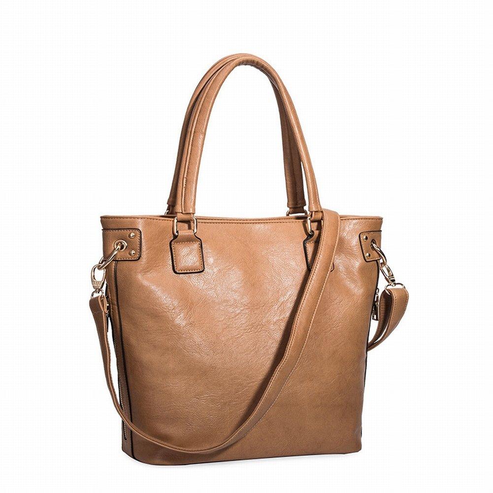Mode Handtasche Schulter Diagonal Handtasche Handtasche 3066 , Aprikose