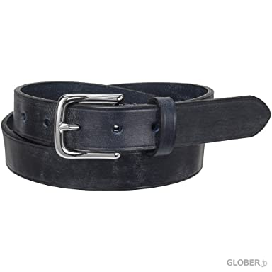 Arnold Wills Bridle Leather Belt 29mm AWG15-3019: Navy