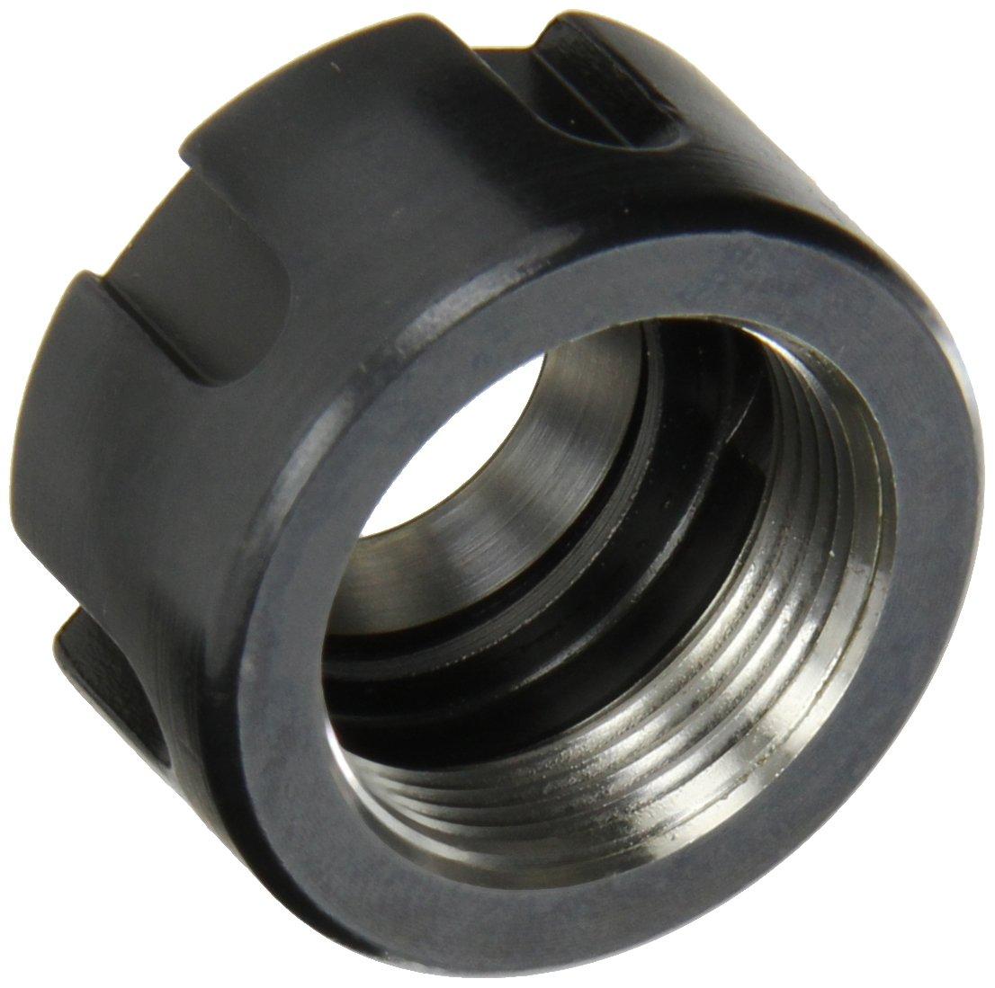 Dorian Tool ER20NTS35 Standard Nut for ER20 Ultra Precision Collets, M25 x 1.5 Thread, 35mm Diameter x 19mm Height
