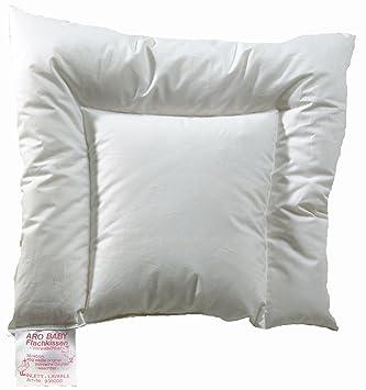 Aro Artländer 9360000 Aroli Blanco almohada plana para bebé 90 ...