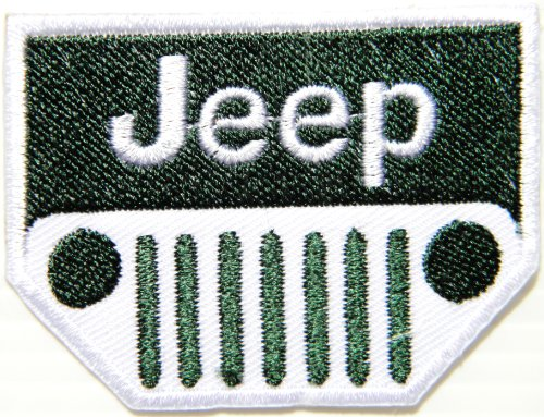 Jeep Wrangler Grand Cherokee 4WD Logo Sign Car Racing Patch Iron on Applique Embroidered T shirt Jacket BY SURAPAN