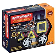 Magformers Cruisers Car Set Building and Construction Toy (X-Large)