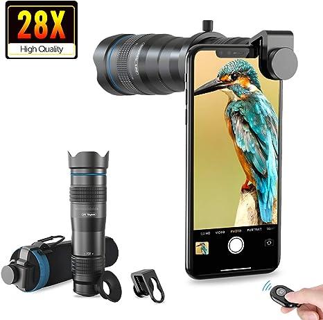 Black Eye Clip-on-Objektiv f/ür iPhone Galaxy 3 St/ück Pixel Handys und Tablets