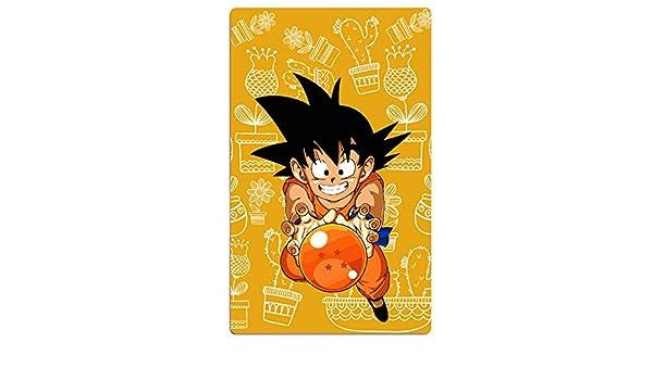 fengziya Dragon Ball Z Son Goku baño/toalla de playa para adultos/31,5