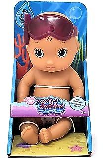 Pink 69048 Just Play Wee Waterbabies Mermaid Baby Doll