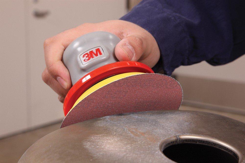 3M Stikit Film Disc 375L, Aluminum Oxide, 5'' Diameter, P600 Grade  (Pack of 50)