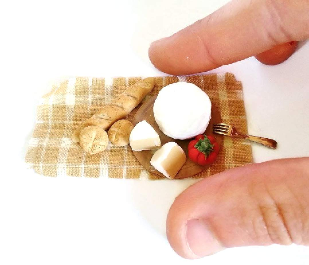Dollhouse Miniature cheese scale 1:12