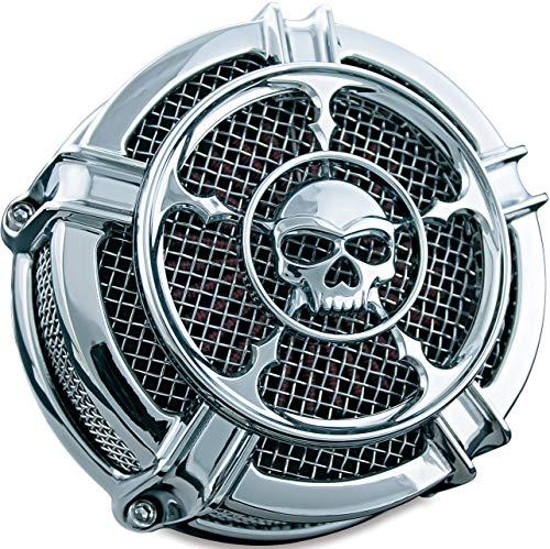 Kuryakyn 9459 Mach 2 Zombie Air Cleaner/Filter Kit for 2008-17 Harley-Davidson Motorcycles, ()
