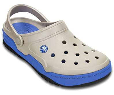 92bcd41cc crocs Front Court Men Clog in Grey: Buy Online at Low Prices in India -  Amazon.in