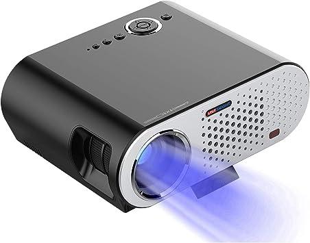 Proyector, proyector de películas portátil 3500 Lux con 30,000 ...