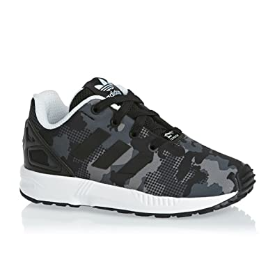 e96d17906 adidas Boys Originals Infant Boys ZX Flux Trainers in Black - 5.5 Infant