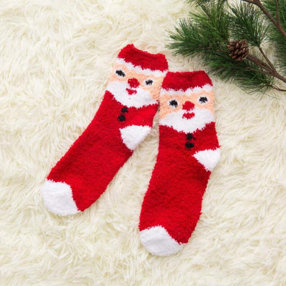 Womens Christmas Holiday Casual Socks, AKwell Colorful Fun Cotton Crew Socks for Novelty Gifts by AKwell (Image #5)