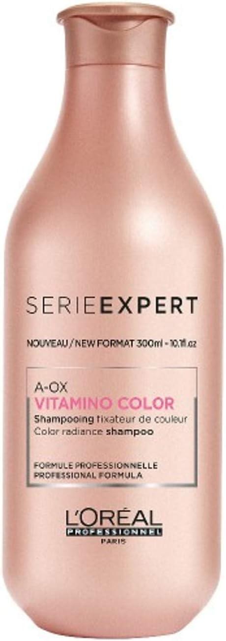 L'Oréal Professionnel Serie Expert – Champú Vitamino-Color A-OX para cabellos teñidos