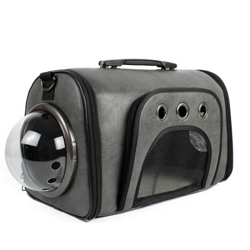 EDYUCGA Kit Di Spazio Mobile Per Animali Domestici Borsa Per Cani Gatto Provviste Di Animali Domestici,grigio