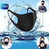 Fashion Face Mouth Mask Unisex Anti Dust Mask Warm Masks Prevention Pollen Allergy Flu Reusable Washable (3PACK)