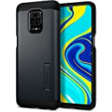 Spigen Funda Note 9 Pro Case Tough Armor para Redmi Note 9 Pro (2020) - Metal Slate