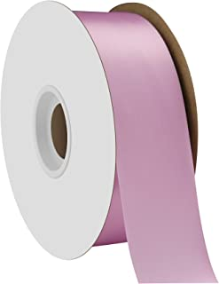 "product image for Offray Berwick 1.5"" Single Face Satin Ribbon, Light Orchid Purple, 50 Yds"