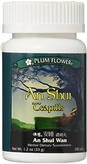 Amazon Com An Mien Pian 84 Tablets Plum Flower Mw 3919 Health Personal Care