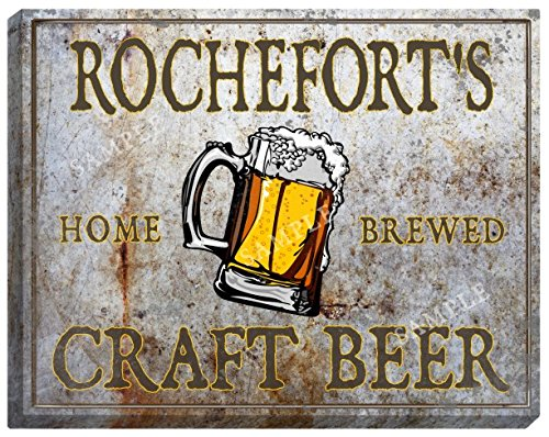 rocheforts-craft-beer-stretched-canvas-sign